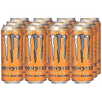 Monster Energy Ultra Sunrise-( 473 Ml X 12 Cans )