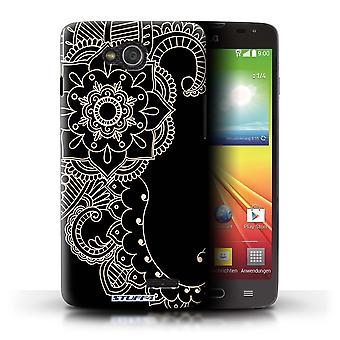 STUFF4 Case/Cover for LG L90 Dual/D410/Flower/Tail/Henna Tattoo