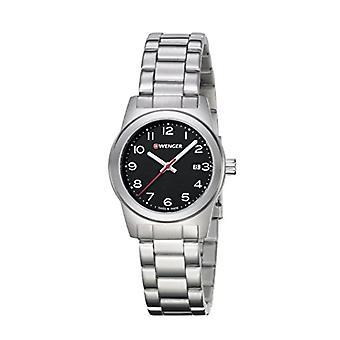 וונגר אנאלוגי שעון קוורץ אישה עם רצועה נירוסטה לא: 01.0411.130