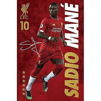 Liverpool FC, Affiche Maxi - Sadio Mané