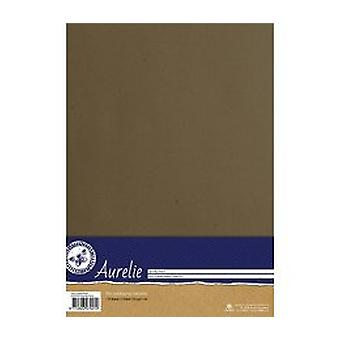 Aurelie Kraft Cardstock Brown