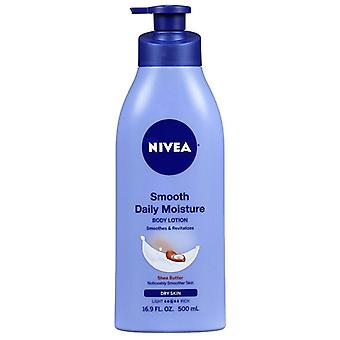 Nivea smooth sensation body lotion, 16.9 oz