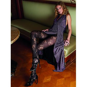 Trasparenze Rose Opaque Patterned Tights