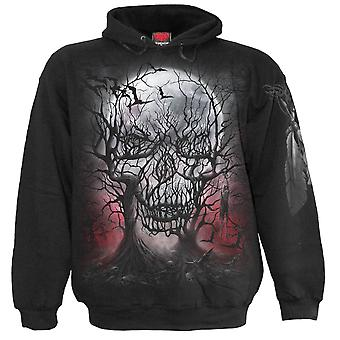 Spiral Direct Gothic DARK ROOTS - Hoody Black|Skulls|Crow|Death|Forest