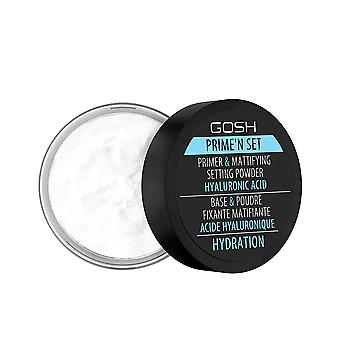 Gosh Velvet Touch Prime'n Set Powder Hydrering 7 Gr For Kvinder