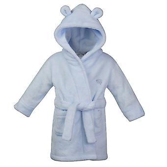 Babys/kisgyermekek puha csuklyás öltöző ruha/köntös