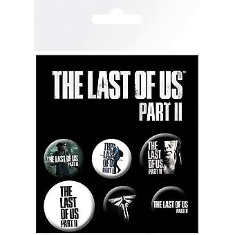 Last of Us Part 2 Ellie Pin Button Badges Set