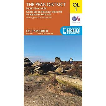 The Peak District - Dark Peak Area - 9780319263655 Book