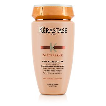 Discipline bain fluidealiste smooth in motion sulfate free shampoo for unruly, over processed hair (new packaging) 207135 250ml/8.5oz