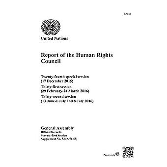 Report of the Human Rights Council - twenty-fourth special session (17