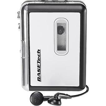 Basetech BT-USB-TAPE-100 Audio kasetti digitointiinKuuluiset kuulokkeet