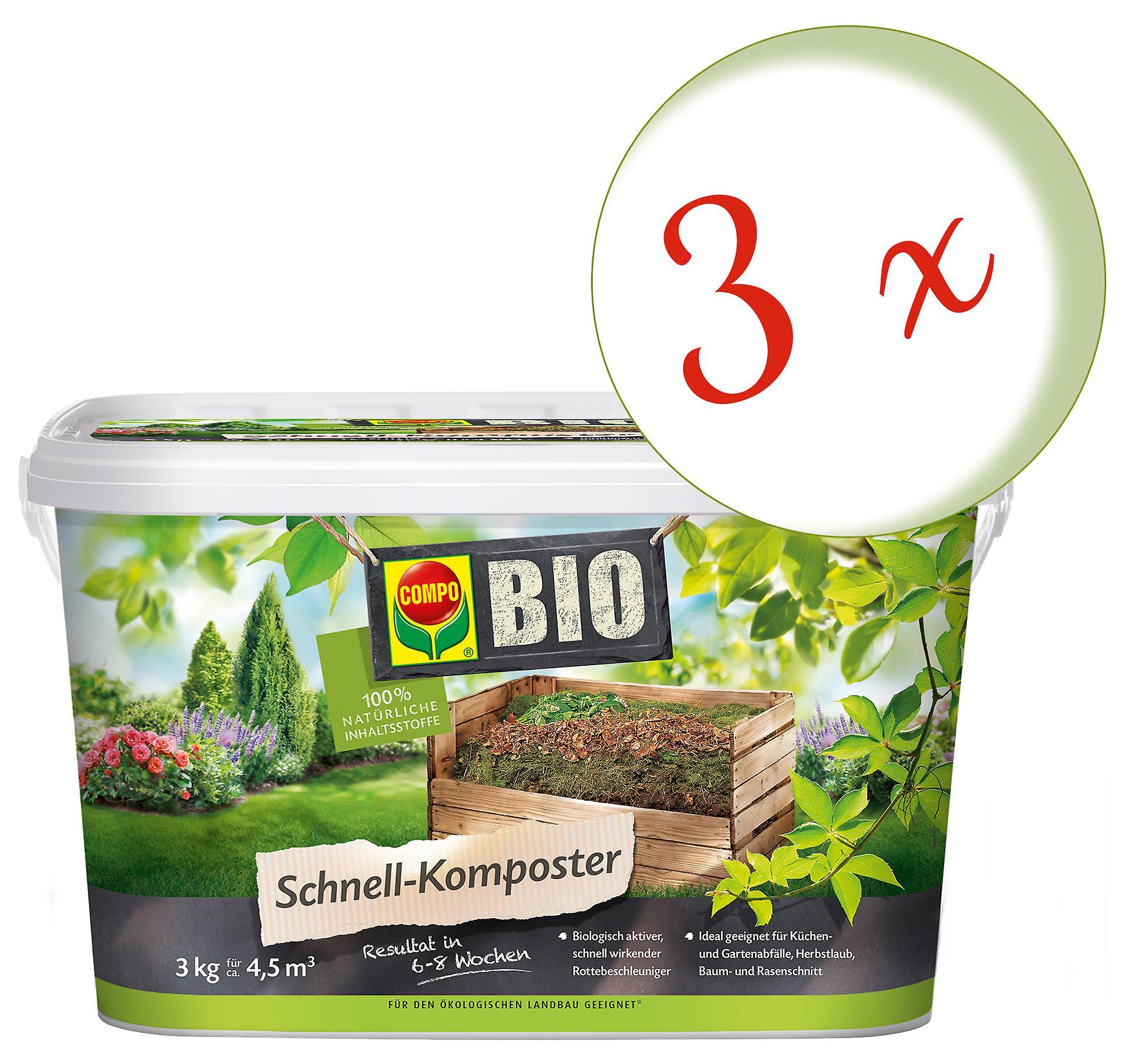 Sparset: 20 x COMPO BIO Schnell-Komposter, 20 kg