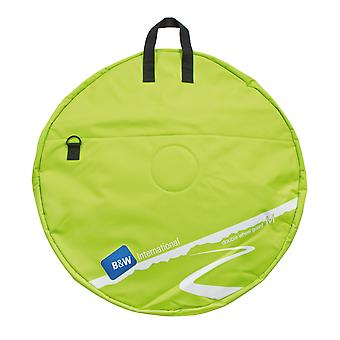 B&W Double Wheel Guard M Wheel Bag, Verde