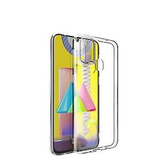 Obudowa antystemokratyczny do Samsung Galaxy M31 - Przezroczysty