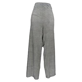Carole Hochman Women's Plus Lounge Pants Fleece Heather Gray A368297