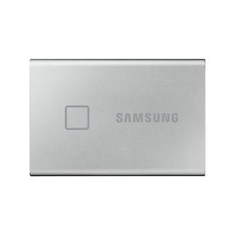 Samsung T7 Touch 2Tb Draagbare Usb C Ssd tot 1000 Mb R W Zilver