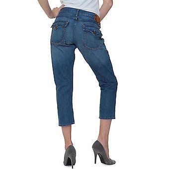 True Religion Jeans Pants Boyfriend LISA SNAKE EYES CROPPED BOYFRIEND NEW PAL OFF
