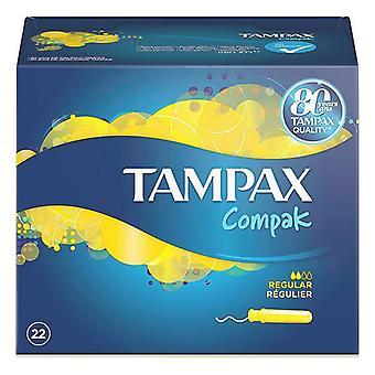 Almindelige Tamponer COMPAK Tampax (22 uds)