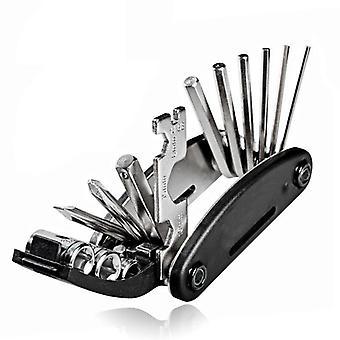 Portable Socket Mtb Mountain Cycle Multipurpose Wrench - Touring Pocket Multi Tool Screwdriver For Motorcycle Bicycle Bike Repair Tools