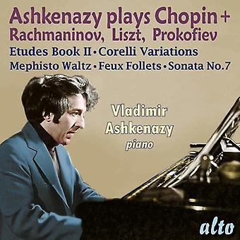 Vladimir Ashkenazy - Ashkenazy Plays Chopin Rachmaninov Liszt & [CD] USA import