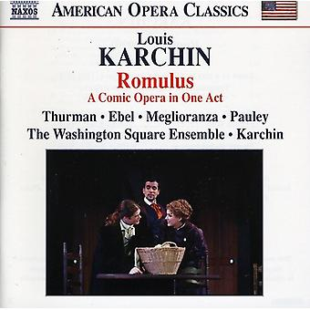 Louis Karchin - Louis Karchin: Romulus [CD] USA import