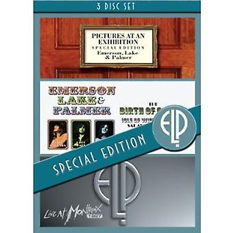 Emerson Lake & Palmer - Pictures at an Exhibition/Birth of a Band/Live at [DVD] USA import