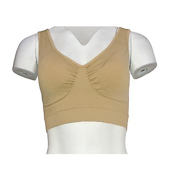 NorthStyle Wire Free Support Bra with Wide Straps Nude Beige
