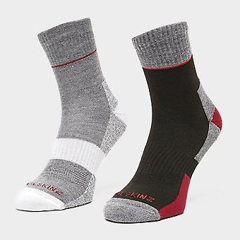 Sealskinz Men's Solo Quickdry Ankle Length Socks Red
