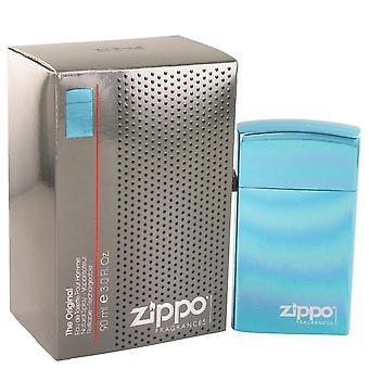 Zippo bleu eau de toilette spray rechargeable par zippo 491520 90 ml
