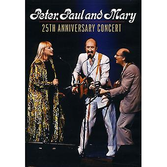 Peter Paul & Mary - 25th Anniversary Concert [DVD] USA import