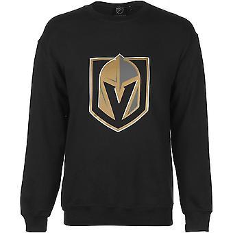 NHL Logo Crew Sweater Mens