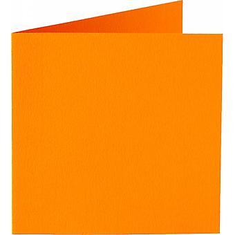 Papicolor 6X Double Card 132X132mm Orange