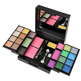 SHANY ' heräsi kuin tämä ' meikki pakki-luomi värejä, Punastumia, ripsi väriä ja applikaattorit