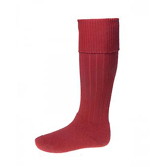 House of Cheviot Country Socks Scarba ~ Brick Red