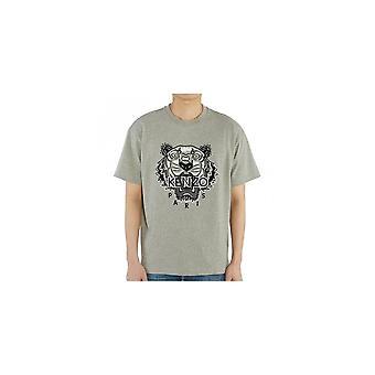 Kenzo Varsity Tiger Grau T-shirt