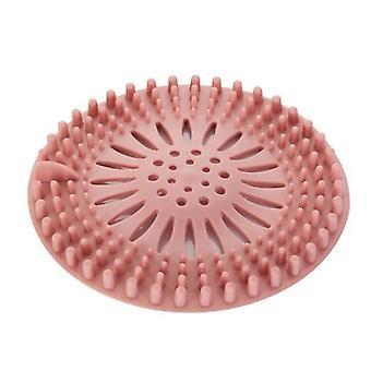 Passoire drain silicone - Bouchon portable de cheveux de filtre de silicone, cuisine,