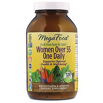 MegaFood, vrouwen ouder dan 55 One Daily, 120 tabletten