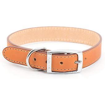 Ancol Heritage Leather Collar - Tan - 16 inch