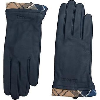 Barbour Tartan Trim Mănuși din piele