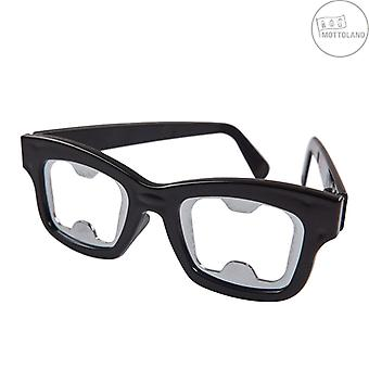 Flaskeåbner briller sorte briller Holder Øl Åbner