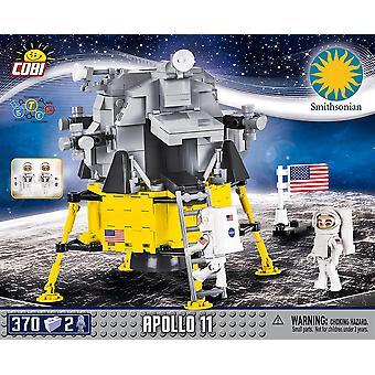 Cobi Smithsonian Apollo 11 Blocuri de aterizare pe Lună Cărămizi 370Pc Compatibil Varsta 6+