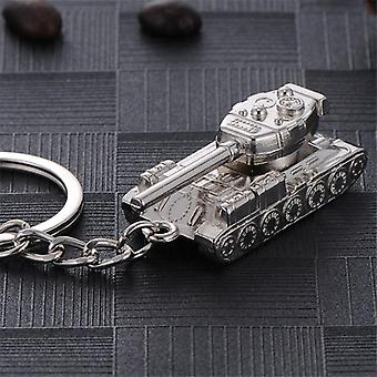 Creative Men's Popular Game World Of Tanks Tank Hanger Key Ring Chain Man