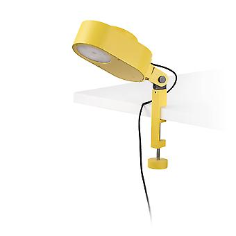 Faro Inviting - LED Clip Yellow 6W Dimmable 2700K-4800K