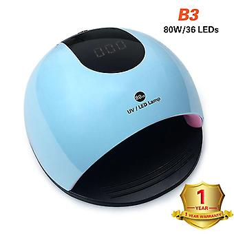 Uv Nail Gel Curing Quickly Lamp Light Nail Polish Dryer - Nail Dryer M/c