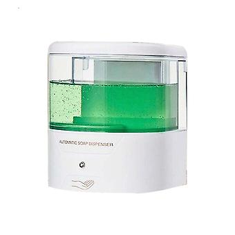Wall-mounted 600ml Automatic Smart Sensor Liquid Soap Dispenser   (green Bronze