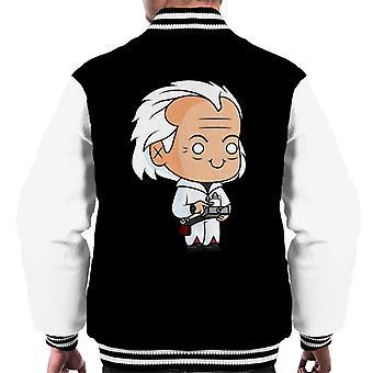 Zurück in die Zukunft Dr Emmett Brown Kawaii Men's Varsity Jacke