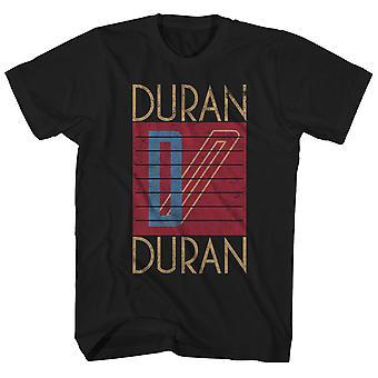 Duran Duran T Shirt Ufficiale Logo Duran Duran Camicia Duran