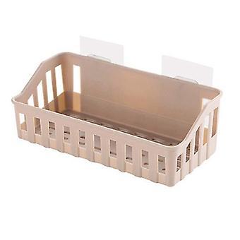 Bathroom Shelf Bathroom Adhesive Storage Rack Kitchen For Home Decoration,