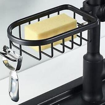 Bathroom Shower Soap Holder - Kitchen Faucet Shelf Tap Accessory