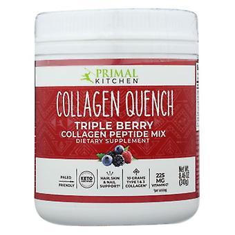 Primal Kitchen Collagen Quench Triple Berry Drink Mix, 8.46 Oz
